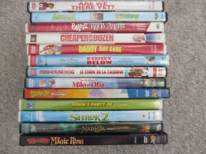 Variety of Family Oriented Movies on DVD
