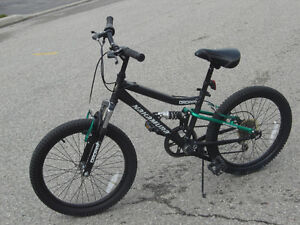 "(((SOLD IT)))  20"" NAKAMURA 6 SPEEDS WITH FULL DUAL SUSPENSION!!"