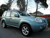 NISSAN X- TRAIL 2.2Di SPORT 2003 COMPLETE WITH M.O.T HPI CLEAR INC WARRANTY