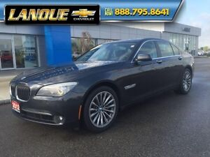 2012 BMW 7 Series 750i   WOW... LOW KMS!!  BEAUTIFUL CAR Windsor Region Ontario image 2