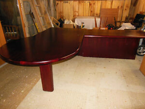 Rosewood Executive Desk