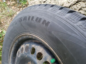 1 YEAR NEW WINTER TIRES 70R15  215