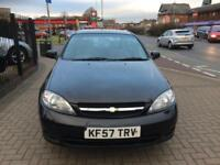 2008 Chevrolet Lacetti 1.6 SX Long Mot 2 Owners 60000 Miles Bargain