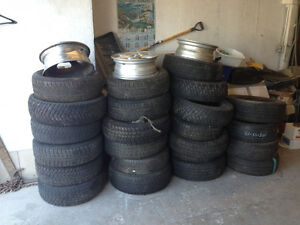 Car tires various sizes 13,14,15,16,17 inch sizes.