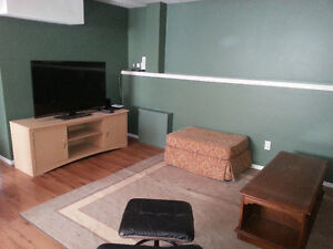 Fully Furnished, Self-contained walkout basement suite