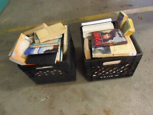 2 CRATES OF VARIOUS BOOKS