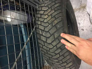 8 14'' Tires Available( 4 all Seasons, 4 winter Tires) 300$ West Island Greater Montréal image 5