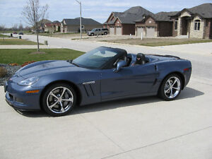 2011 Chevrolet Corvette Z16 Grand Sport w/3LT convetible.