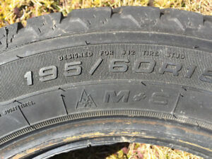 195/60R15 Nordic Winter tires