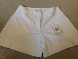Nike Women's Golf Shorts - White - Size 8 - Tags still on