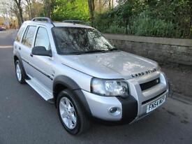 2004 '54' LAND ROVER FREELANDER 2.0Td4 HSE 5 DOOR STATION WAGON 101,000 MILES