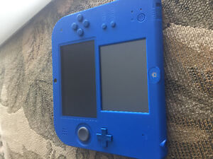Nintendo 2ds and game