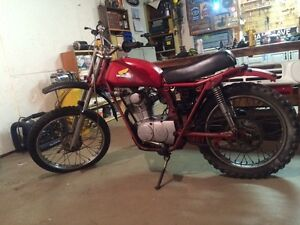 1978 Honda sl100