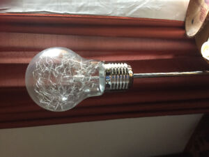 Lightbulb floor lamp