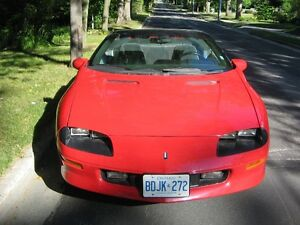 1996 Camaro (Price Reduced) Convertible V6 3.8 Litre Stratford Kitchener Area image 9