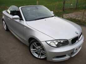 2009 BMW 1 SERIES 120D M SPORT CONVERTIBLE CONVERTIBLE DIESEL
