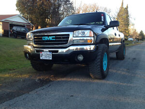 2004 GMC Sierra trade for a diesel