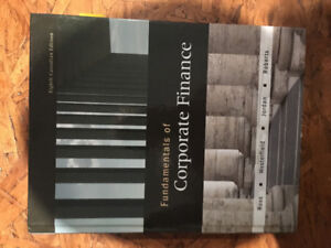 Textbook: Corporate finance 8th edition
