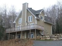 Maison/chalet impeccable en montagne vue sur le lac
