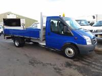 Ford Transit 14 ft Drop side / flatbed pickup with tail lift