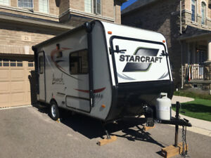 Beautiful 2016 Starcraft Launch camper for spring/summer rental