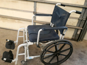 Free Commode/ wheel chair