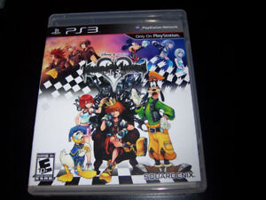 Kingdom Hearts HD 1.5 Remix  and 2.5 Remix PS3