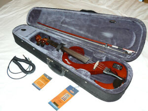 STAGG 4/4 Electric Violin with case $295.00