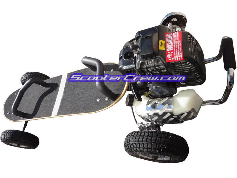 Gas Powered Fast Mountain Board Motor skateboard 49cc Motorized ScooterX