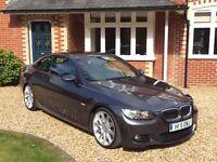 BMW 330d M sport 2dr Coupe | 2007 (57reg) | 105,000 miles | Steptronic Auto | 3.0L | Huge Spec