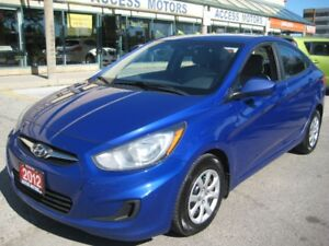 2012 Hyundai Accent Sedan, Very Clean, Automatic 4 Door