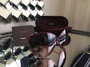 Tom Ford EVELYN Butterfly Sunglasses TF 251 69FPurple