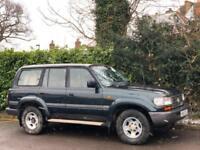 1995 [N] TOYOTA LAND CRUISER AMAZON 4.5 VX PETROL/LPG AUTO 80 SERIES GREEN