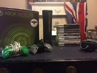 Xbox 360 elite with x13 games