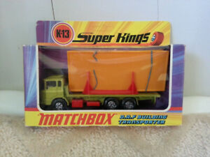 MATCHBOX  BUILDING  TRANSPORTER
