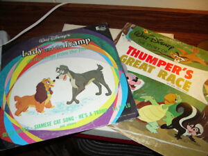 Walt Disney Lady and the Tramp Album and Thumper's Great Race