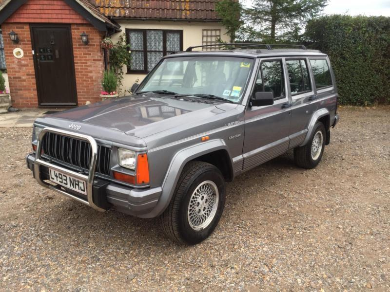 1994 Jeep Cherokee 4 0 Limited 106 000 Miles Excellent Condition Classic 4x4 In Clacton On