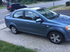2007 PONTIAC WAVE FOR SALE AS IS!
