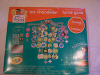 New Crayola Create your own Ice Chandelier