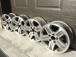 4 MAG WHEELS for Tires 235/70R16