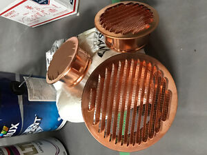 NEW copper air vent vents fireplace heating cooling