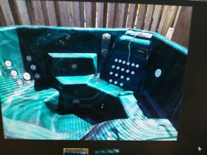 FREE Hot Tub included with cover / motor / steps all FREE