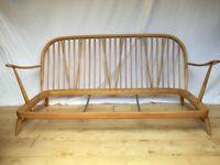 Vintage Ercol 203 3 seater sofa frame