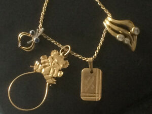 10k solid gold necklace