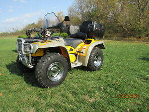 A GREAT CHRISTMAS PRESENT !!,ONE MINT ATV  !!