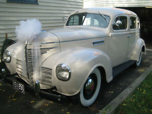1939 PLYMOUTH SEDAN ORIGINAL