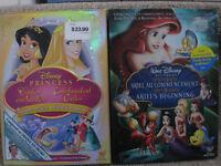 DVDs Disney & DVDs Barbie gardés précieusement