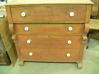 tres belle commode antique de 150 ans en pin # 1478
