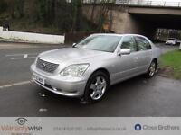 LEXUS LS 430, Silver, Auto, Petrol, 2003 2 OWNER CAR LAST SINCE 2006