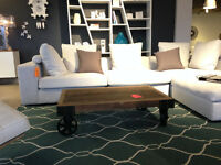 Barberry table DISTRESSED LOOK